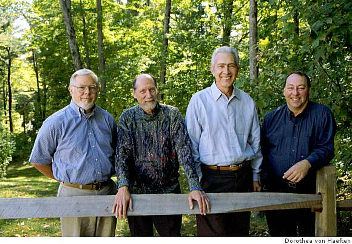 The Guarneri String Quartet (from left, John Dalley, Michael Tree, Arnold Steinhardt, Peter Wiley)
