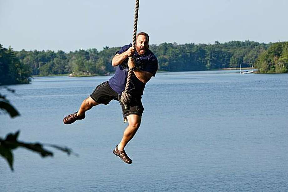 "Kevin James in a scene from ""Grown Ups."" Photo: Tracy Bennett, AP"