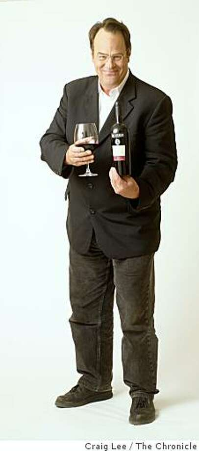 Actor, Dan Aykroyd, with his Dan Aykroyd wine in Santa Rosa, Calif., on September 17, 2008. Photo: Craig Lee, The Chronicle