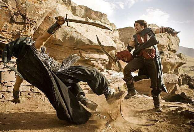 "Jake Gyllenhaal took the lead role in the movie ""Prince of Persia: The Sands of Time."" Photo: Andrew Cooper, SMPSP, Disney Enterprises, Inc."