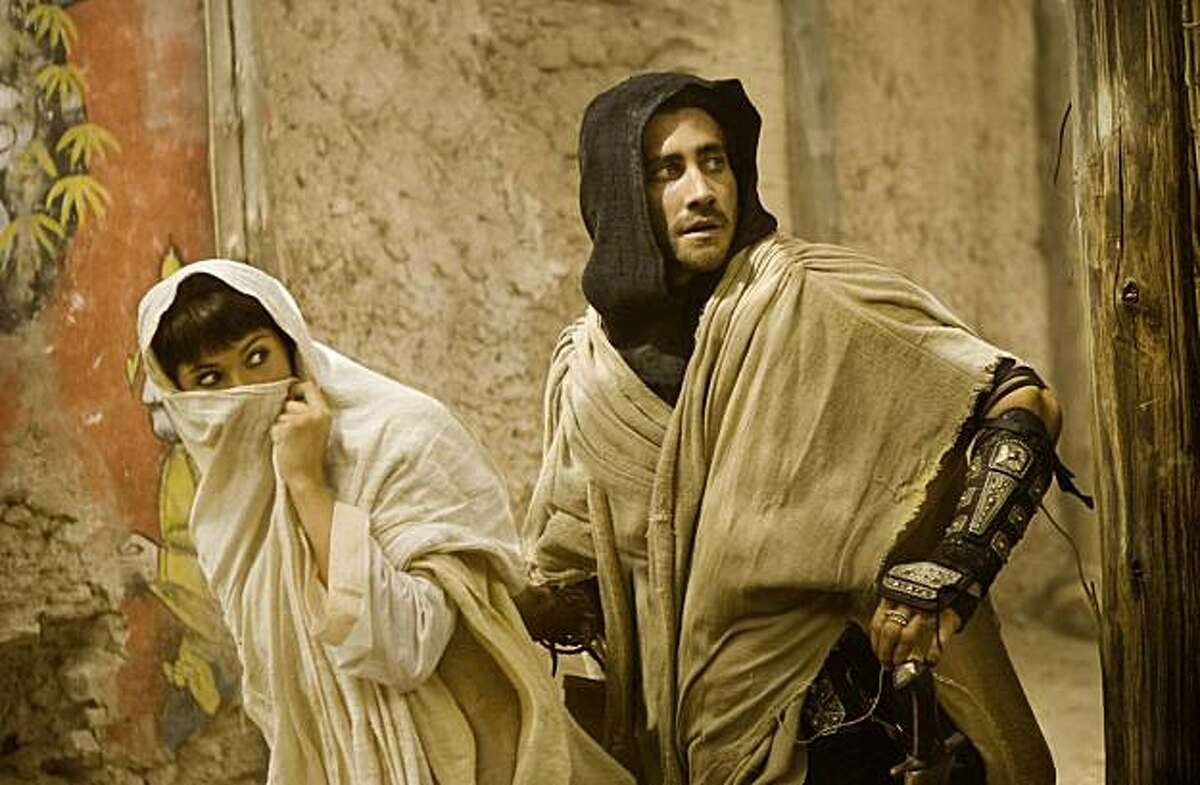 """Gemma Arterton, left, and Jake Gyllenhaal star in """"Prince of Persia: The Sands of Time."""" (Andrew Cooper/Courtesy Disney Enterprises, Inc. and Jerry Bruckheimer, Inc./MCT)"""
