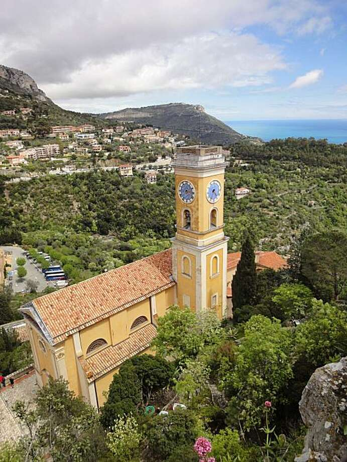 The Church of Our Lady of Assumption in Eze Village. Photo: Eliza Hussman, The Chronicle