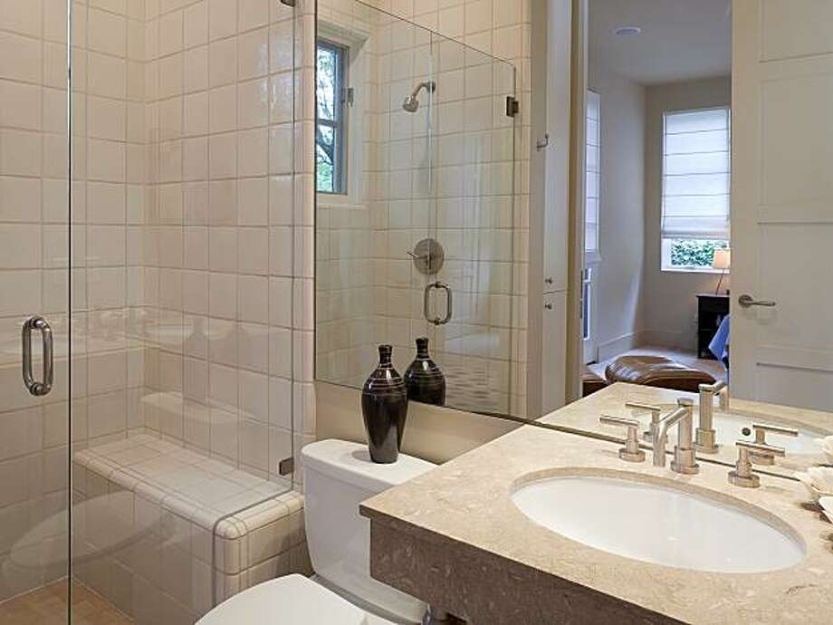 One of the home's two bathrooms. The modern home was built in 2002. Photo: Courtesy David Eichler