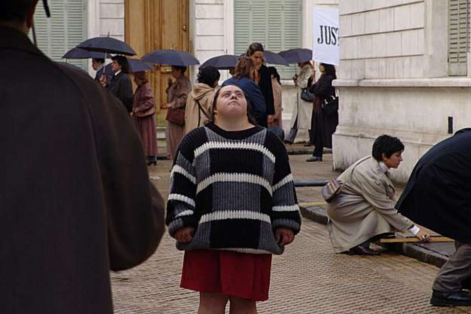 Film still from ANITA showing Anita (Alejandra Manzo) who has Down syndrome, lost in Buenos Aires. Photo: Courtesy Jewish Film Festival