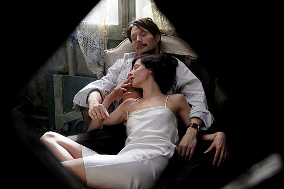 Left to Right: Mads Mikkelsen as Igor Stravinsky and Anna Mouglalis as Coco Chanel Photo: Regine Abadia, Sony Pictures Classics