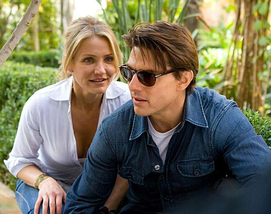 KNIGHT & DAY June (Cameron Diaz) and Roy (Tom Cruise) arenÕt exactly in sync when they find themselves the targets of assassins. Photo: Frank Masi, SMPSP, Twentieth Century Fox