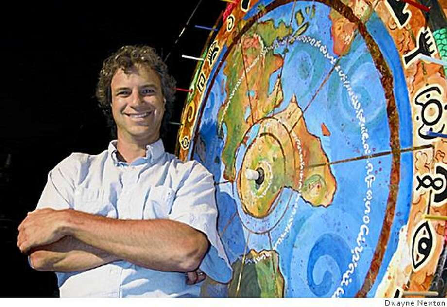 Strange Travel Suggestions, Jeff Greenwald Jeff Greenwald invites audiences to spin the big wheel andhear tales of adventure in faraway places. Photo: Dwayne Newton