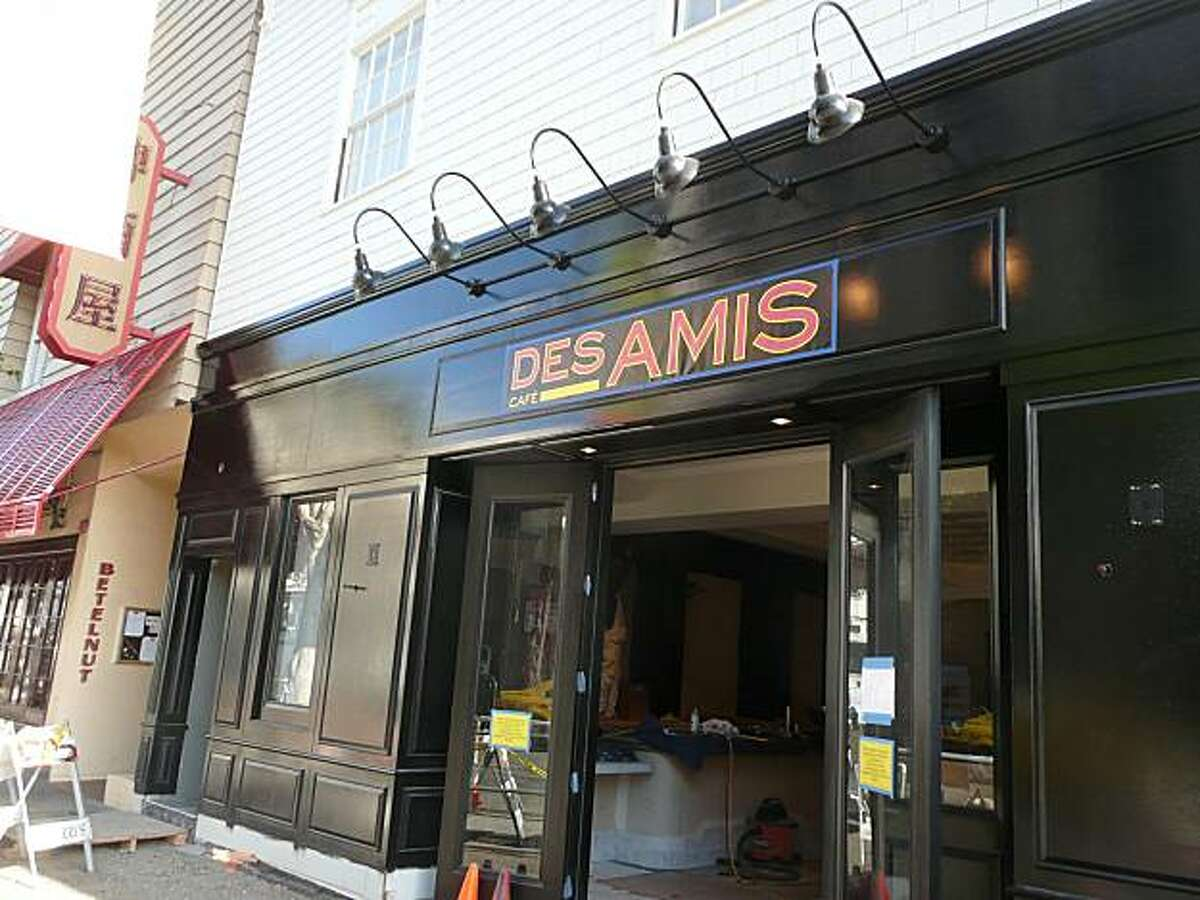 After four years and many delays, Cafe des Amis is finally getting ready to open in San Francisco's Cow Hollow neighborhood.