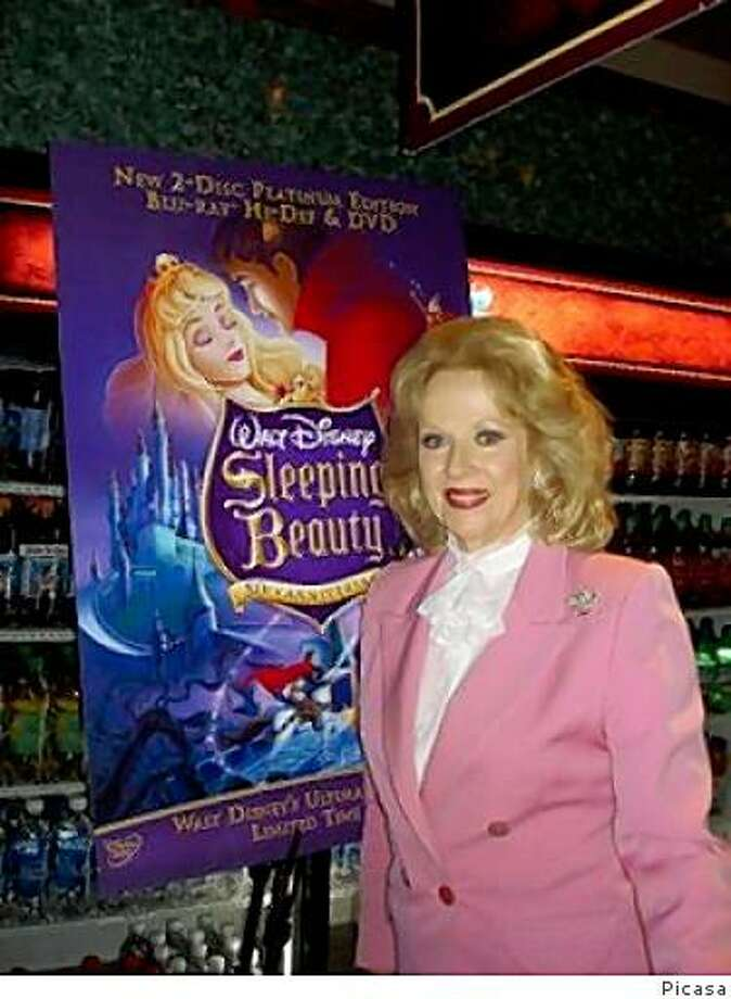 """Mary Costa, the voice of Walt Disney's 'Sleeping Beauty,"""" at a 50th anniversary celebration of the film. Photo: Picasa"""