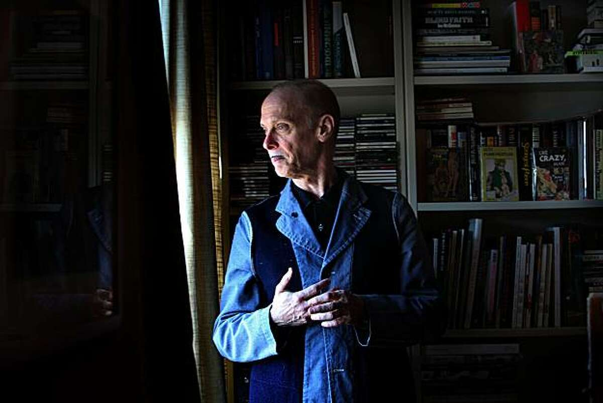 Writer and director John Waters in his Nob Hill apartment as he looks at his view in San Francisco , Calif., on Thursday, May 6, 2010.