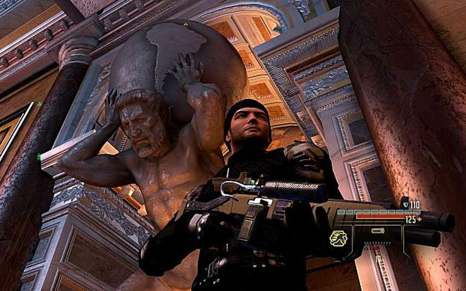 Screenshot from Sega's Alpha Protocol. In Alpha Protocol, rogue secret agent Michael Thorton investigates an international conspiracy involving weapons trafficking. Photo: Obsidian Entertainment, Sega