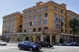 The new building at the intersection of University Avenue and Martin Luther King, Jr. Way in Berkeley, Calif., was designed by Kirk Peterson and is known as the Californian.