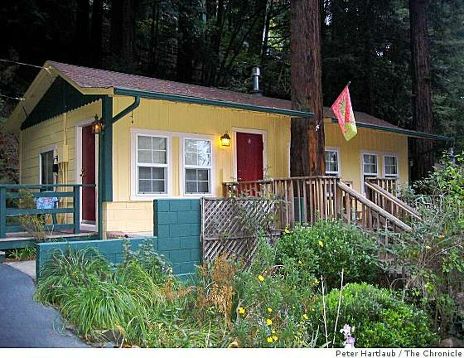 Fern Grove Cottages were built along the Russian River in the 1920s. The cottages are a few blocks away from downtown Guerneville. Photo: Peter Hartlaub, The Chronicle