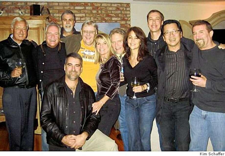 The crew from KFRC radio (2008). Photo: Kim Schaffer
