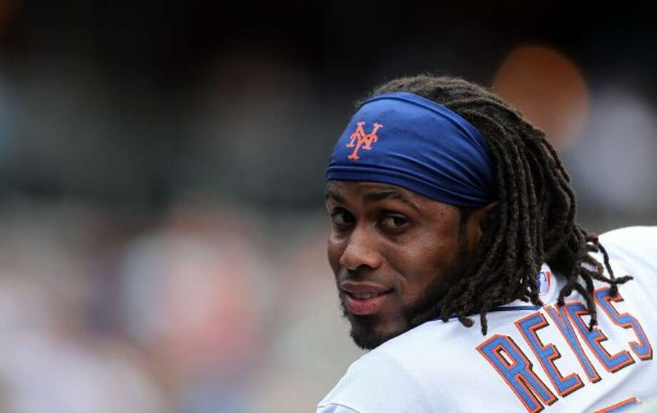 NEW YORK, NY - JULY 16: Jose Reyes #7 of the New York Mets watches on from the dugout against the Philadelphia Phillies at Citi Field on July 16, 2011 in the Flushing neighborhood of the Queens borough of New York City.  (Photo by Nick Laham/Getty Images) (Getty Images)