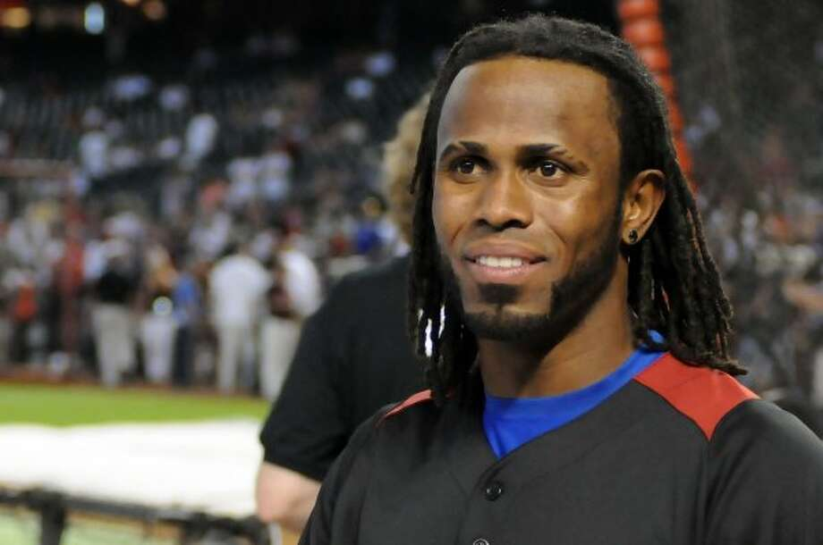 PHOENIX, AZ - JULY 11:  National League All-Star Jose Reyes #7 of the New York Mets looks on during the Gatorade All-Star Workout Day at Chase Field on July 11, 2011 in Phoenix, Arizona.  (Photo by Norm Hall/Getty Images) (Getty Images)