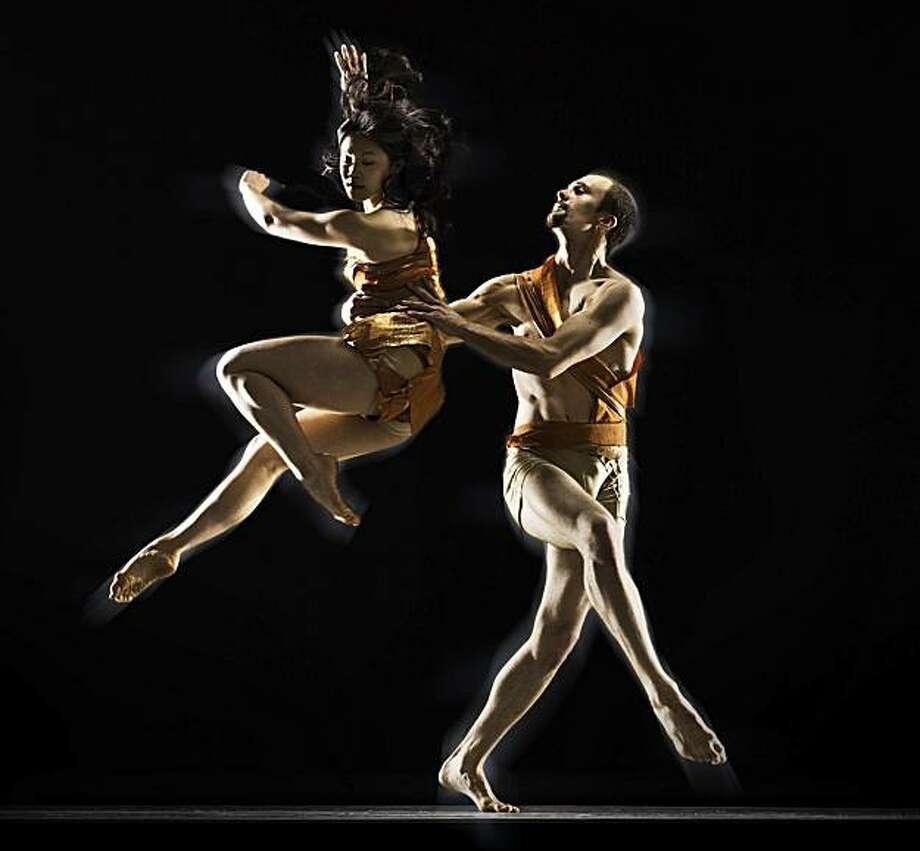 2.  Shannon Kurashige and Brendan Barthels (Liss Fain Dance)  Credit: RJ Muna Photo: RJ Muna