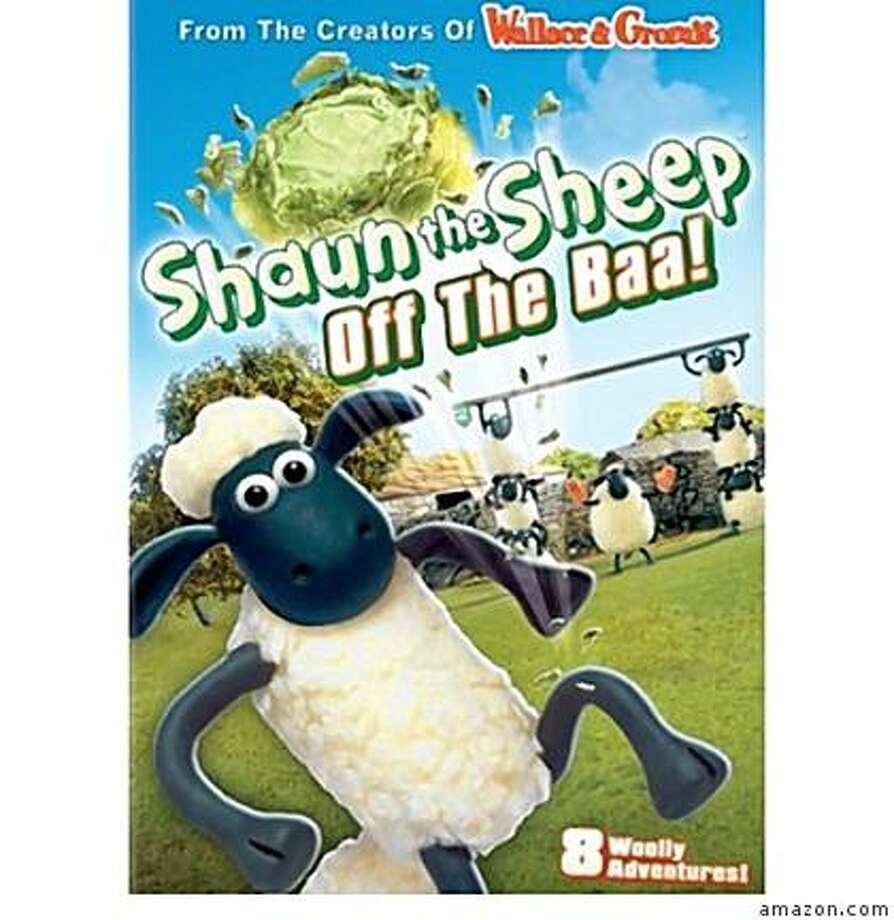 dvd cover: SHAUN THE SHEEP: OFF THE BAA! Photo: Amazon.com