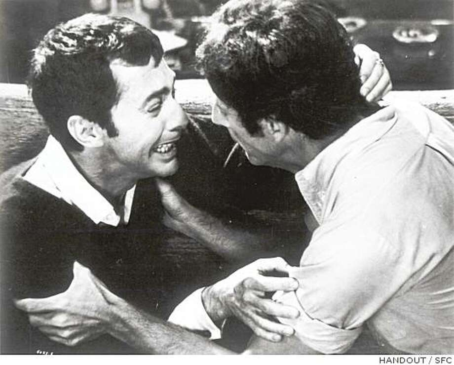 "Frederick Combs, at right, comforts Kenneth Nelson in ""The Boys in the Band"" (1970). Photo: HANDOUT, SFC"
