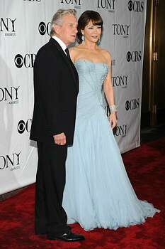 NEW YORK - JUNE 13:  Actors Michael Douglas and Catherine Zeta-Jones attend the 64th Annual Tony Awards at Radio City Music Hall on June 13, 2010 in New York City. Photo: Bryan Bedder, Getty Images