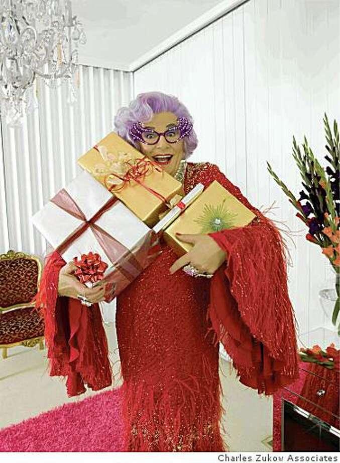 Dame Edna Photo: Charles Zukow Associates