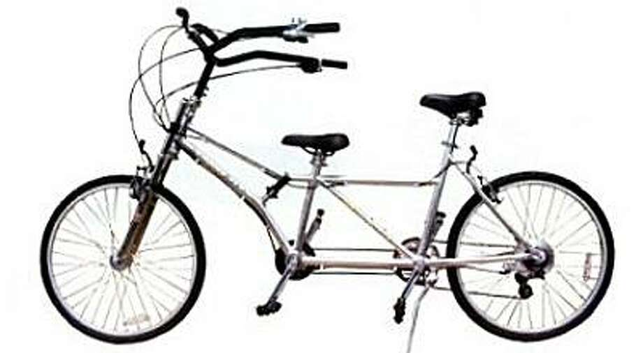 San Francisco police are asking for the public's help in finding a unique tandem bicycle similar to this one. Photo: Courtesy Of SFPD