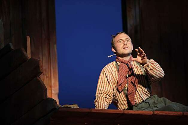 "Richard Thieriot in Octavio Solis' adaptation of John Steinbeck's ""Pastures of Heaven,"" on Wednesday, June 2, 2010. Dress rehearsal for opening show of Cal Shakespeare season. The novel is a set of interconnected short stories. Photo: Carlos Avila Gonzalez, The Chronicle"