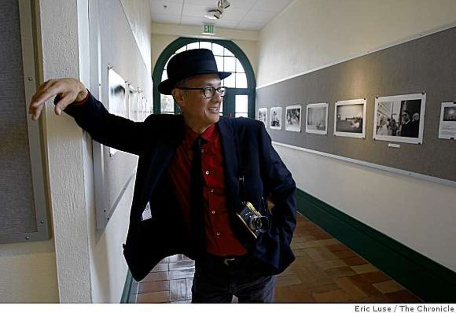 Photographer Michael Jang has a show at University High School in San Francisco  photographed on Monday, October 27, 2008. Photo: Eric Luse, The Chronicle
