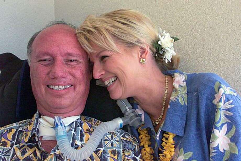 SPT WEDEMEYER - Charlie Wedemeyer and his wife Lucy. Honolulu Star-Bulletin Photo by Cindy Ellen Russell, 06-04-05