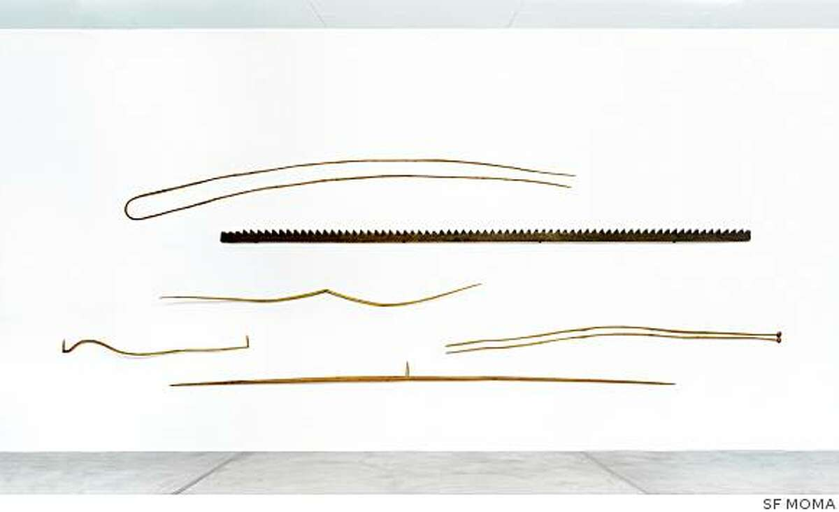 """""""Some Tales"""" (1975-78) wood sculpture by Martin Puryear"""