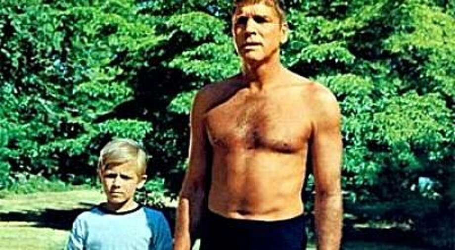 """Burt Lancaster in """"The Swimmer."""" Photo: Columbia Pictures 1968"""