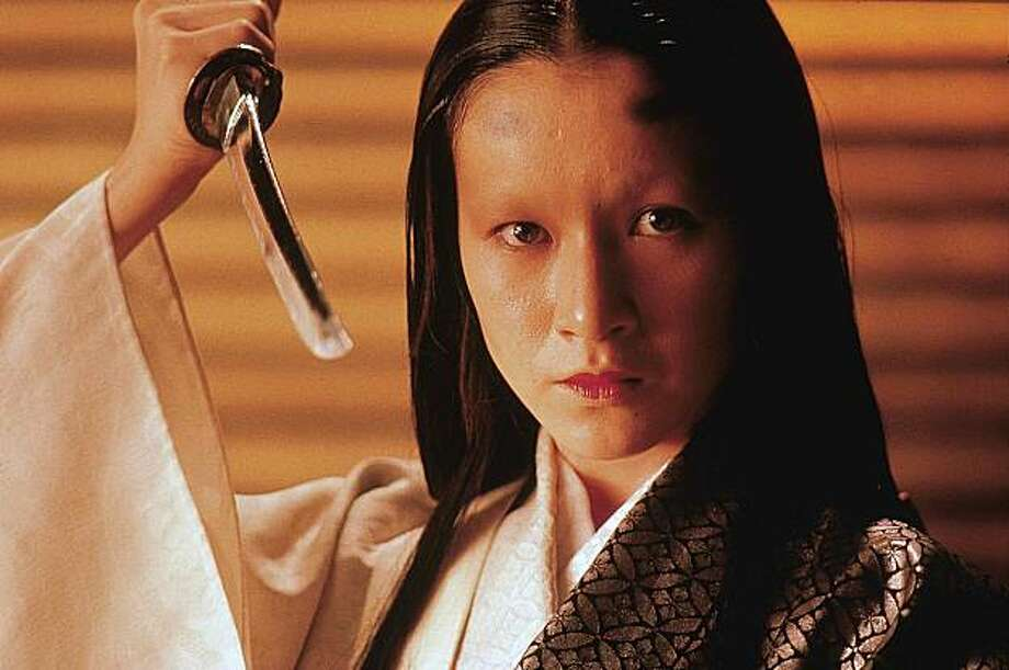 Mieko Harada as Lady Kaede in Ran Photo: Rialto Pictures