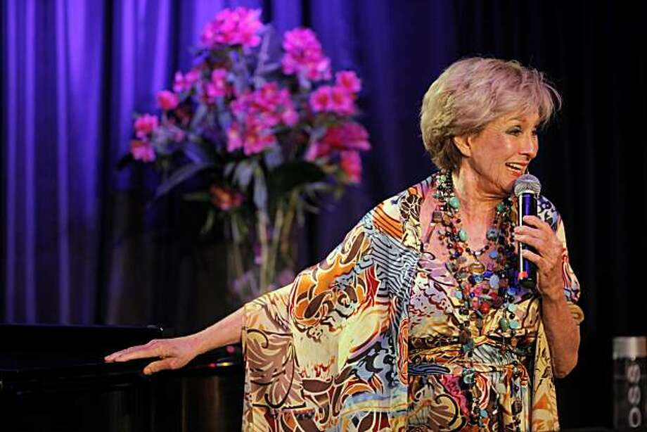Cloris Leachman performs during the first night of a three night gig at the Rrazz room at the Hotel Nikko in San Francisco, Calif., on Tuesday, June 1, 2010. Photo: Carlos Avila Gonzalez, The Chronicle