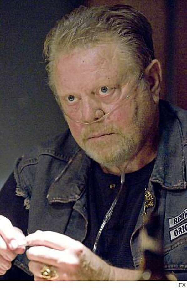 """William Lucking, second from left, in """"Sons of Anarchy."""" Photo: FX"""