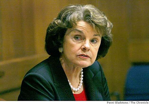United States Sen. Dianne Feinstein talks to editorial board at the San Francisco Chronicle on October 23, 2006 in San Francisco, Calif. Photo: Penni Gladstone, The Chronicle