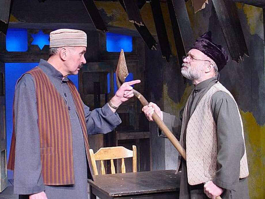 Ishaq (Reathel Bean) and and Zebylan (John Pietrowski), the last two Jews in Afghanistan, hatch a plan to rebuild their community, but first have to deal with the fact that they can't stand each other. Photo: Suzanne Barabas