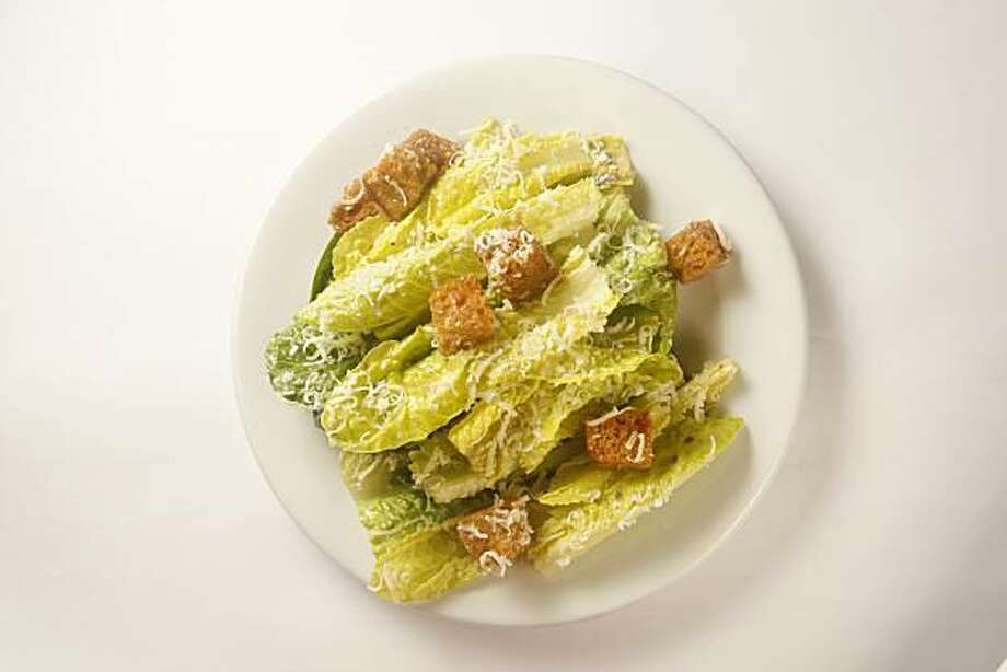 Caesar Salad at Zuni Cafe in San Francisco, Calif., on February 27, 2009. Photo: Craig Lee, The Chronicle