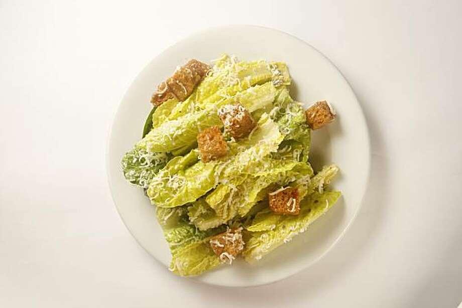 Caesar Salad at Zuni Cafe in San Francisco, Calif., on February 27, 2009. Photo: Craig Lee, The Chronicle