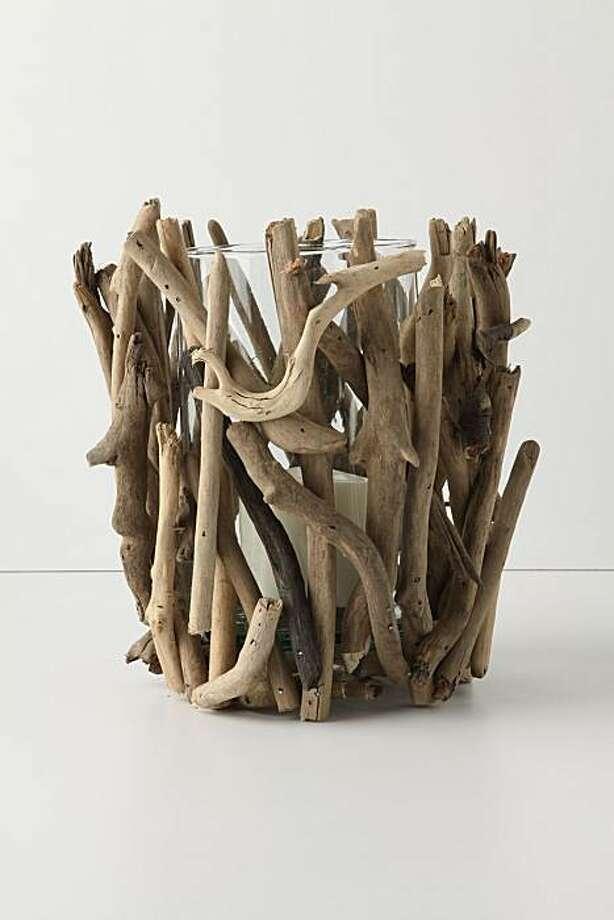 Anthropologie's  driftwood hurricane Photo: Anthropologie