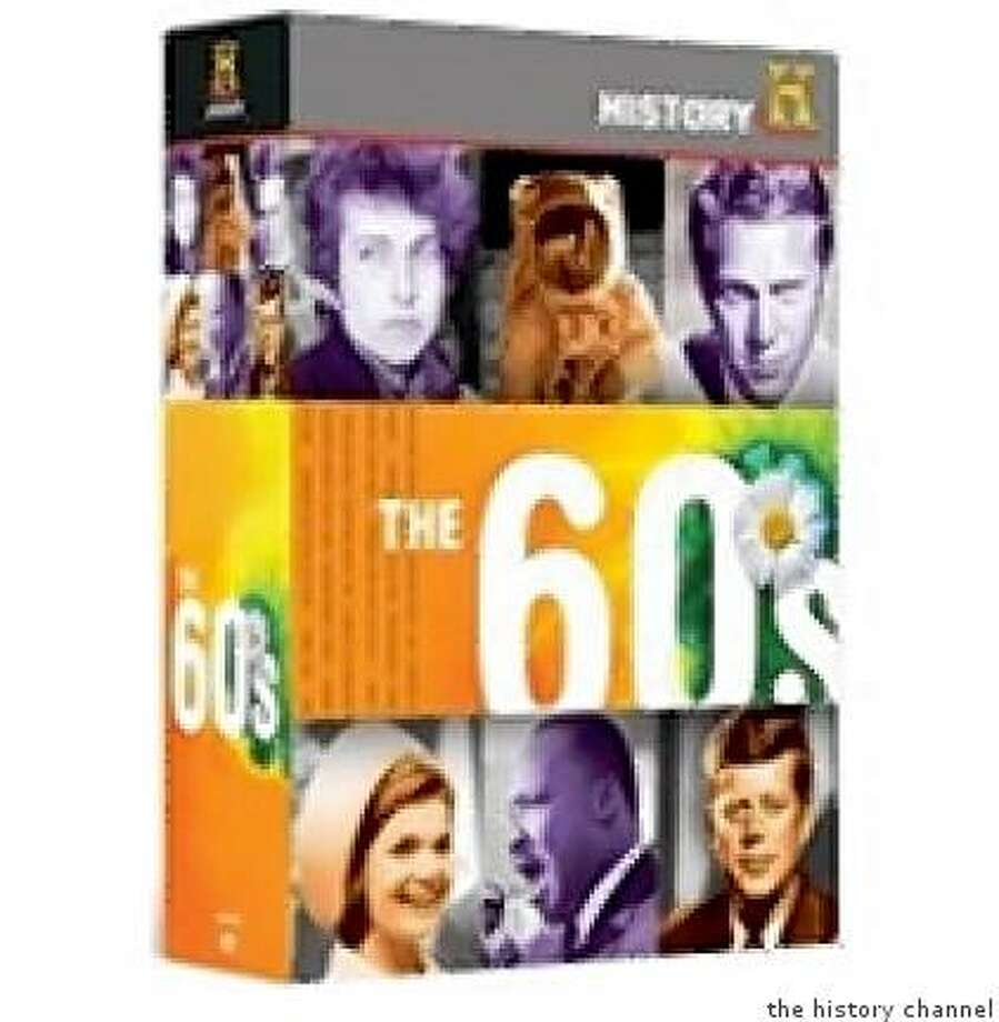 dvd box set THE '60S, from The History Channel Photo: The History Channel