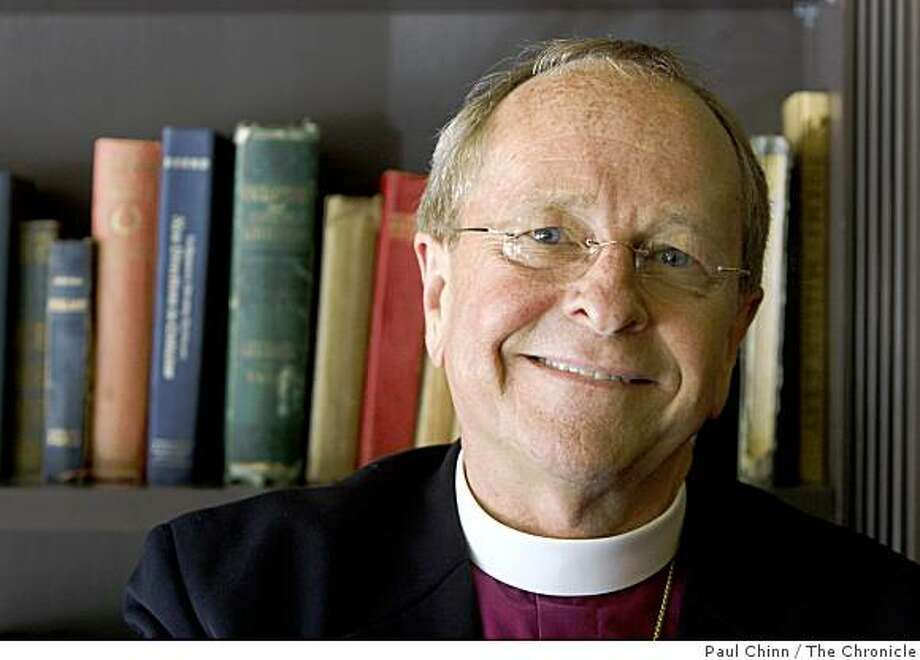 Bishop Gene Robinson of the New Hampshire Episcopal Diocese is seen in San Francisco, Calif., on Thursday, July 3, 2008. Robinson, the first openly gay bishop, will deliver the keynote address at a gathering of LGBT Lutherans.Photo by Paul Chinn / The Chronicle Photo: Paul Chinn, The Chronicle