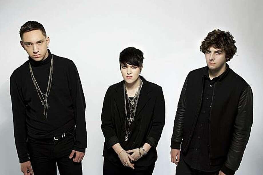 The xx: Oliver Sim (from left), Romy Madley Croft and Jamie Smith. Photo: Aliya Naumoff