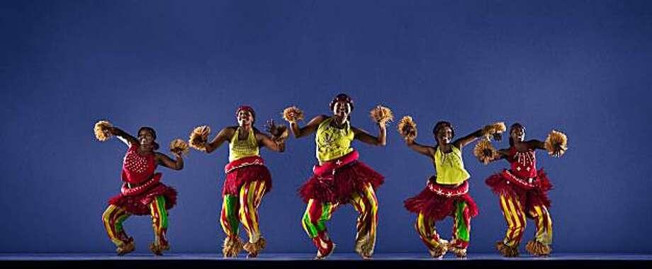 Fua Dia Congo will perform at the San Francisco Ethnic Dance Festival. Photo: RJ Muna