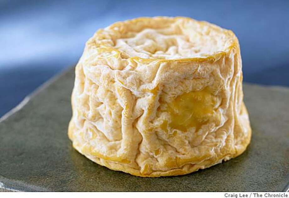 Langres cheese, in San Francisco, Calif., on October 23, 2008. Food styled by Caitlin Olmstead. Photo: Craig Lee, The Chronicle