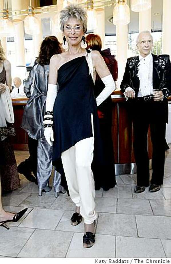 Rita Moreno wearing Fabrice silk jersey top and pants, at the opening gala for the San Francisco Symphony, in San Francisco, Calif. on Wednesday, Sept. 3, 2008. Photo: Katy Raddatz, The Chronicle