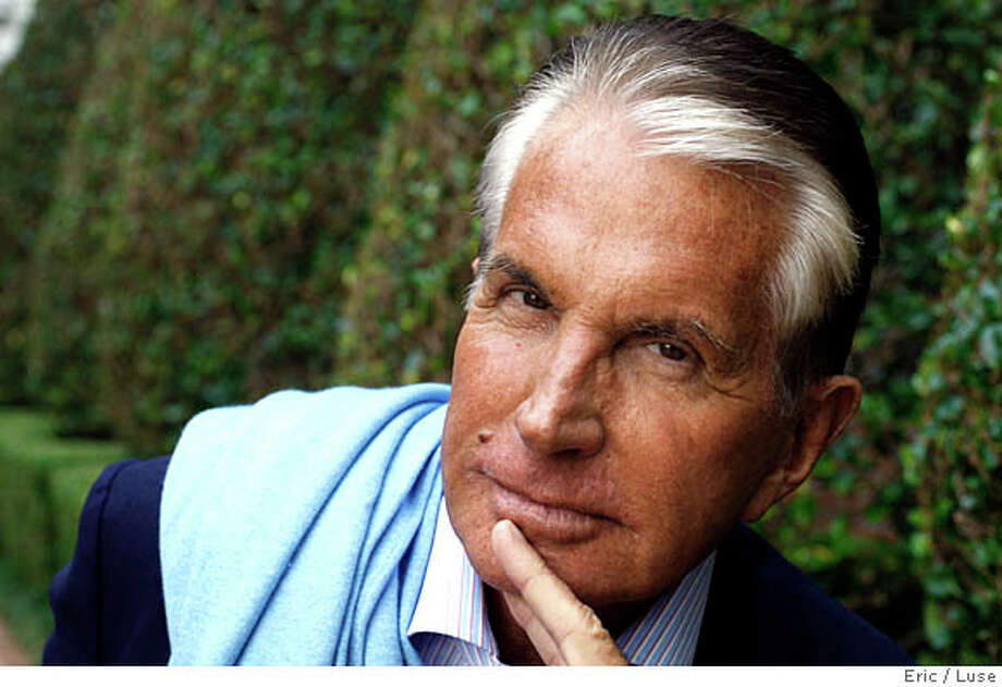 """Actor George Hamilton has written a memoir """"Don't Mind If I Do"""" in San Francisco  photographed on Monday, October 27, 2008 at The Ritz. Photo: Eric Luse,, The Chronicle / ONLINE_YES"""
