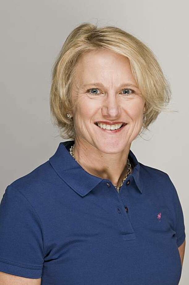 Peggy Ference, a 51-year-old pharmaceutical company executive from New Jersey, won a contest that will allow her to play Pebble Beach with some celebrity golfers in a Golf Digest event -- the U.S. Open Challenge -- on June 9, 2010, in advance of the U.S.Open. Photo: Courtesy Of Golf Digest