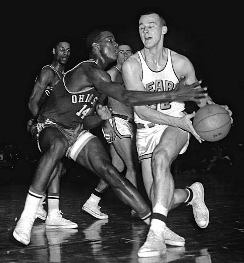 March 22, 1960March 22, 1960. Cal Bears in NCAA men's basketball finals against Ohio. Photo: Gordon Peters, The Chronicle