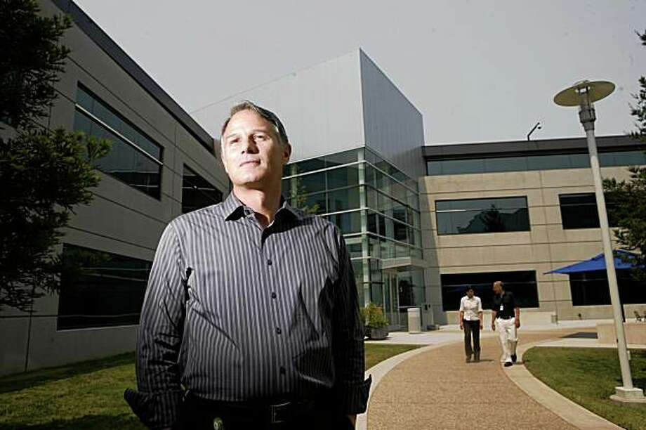 Dan'l Lewin poses for for a portrait at Microsoft's Silicon Valley campus on Tuesday, June 24, 2008 in Mountain View, Calif.  Photo by Mike Kepka / The Chronicle Photo: Mike Kepka, The Chroncle