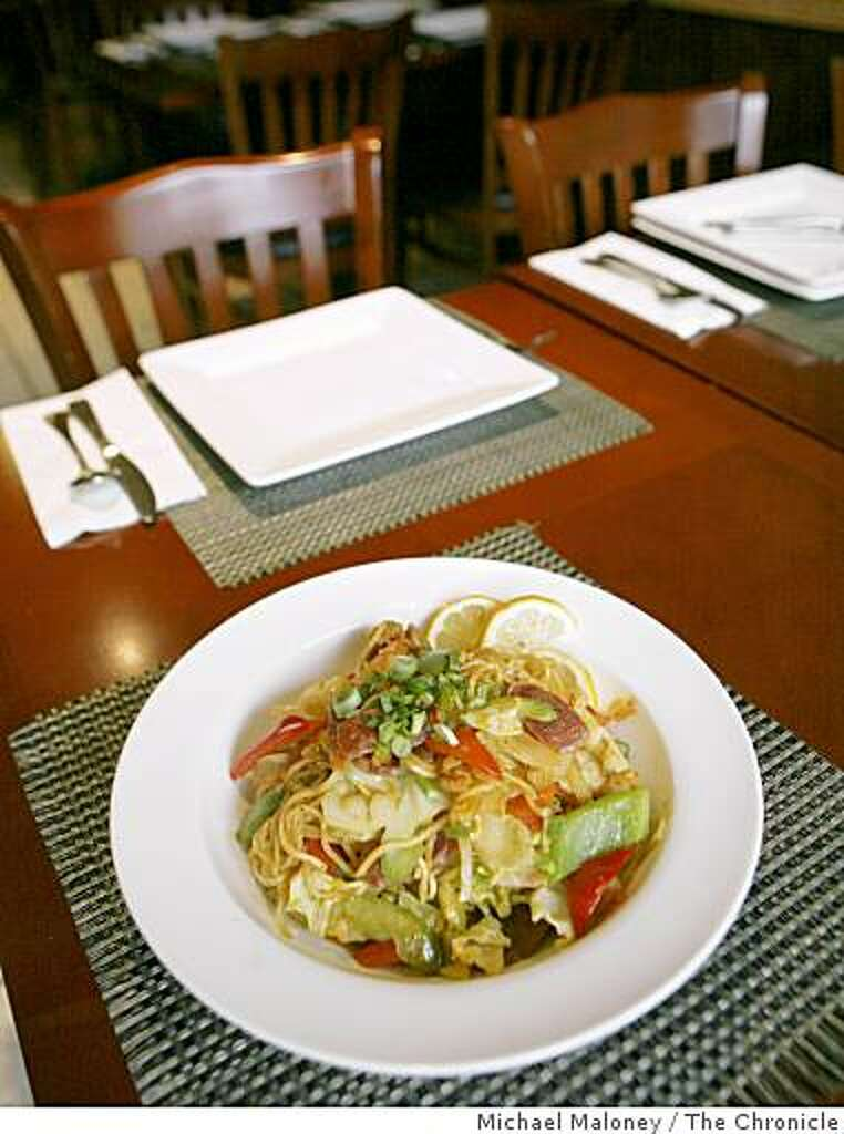 Pancit Canton Is One Of The Dishes Offered At Patio Filipino, A Restaurant  In San